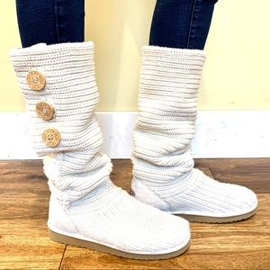 Ugg Shoes Bailey Button I Do Collection Boots Sz 11 New